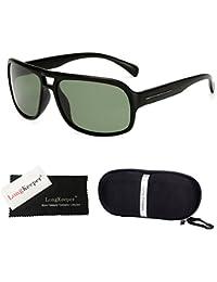 db4dee885e G15   Long Keeper Biking Sunglasses UV400 Polarized Sports Goggles Fishing  Cycling Golf Glasses with Case