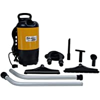 Thorne Electric BP-1400 - Aspiradora (1400 W, 60 Hz, Cilindro, Dust bag, Negro, Amarillo, Hogar)