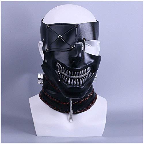 o Ghouls Cos Einäugige Art von Gold Holz Forschung Maske Masken Hauben Film Und Fernsehen Requisiten ()