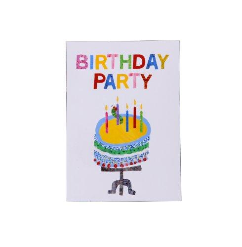 Talking Tables The Very Hungry Caterpillar Happy Birthday Invitation, Lot de 10