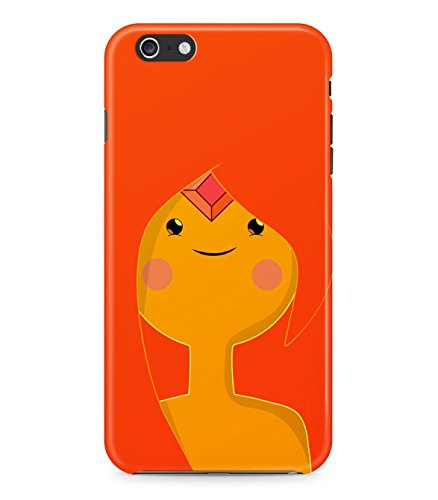 Adventure Time Flame Princess Face Hard Plastic Snap On Back Case Cover For Iphone 6 Custodia