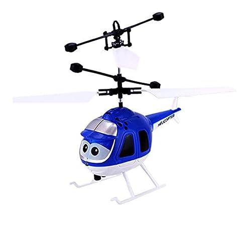 bescita mouches Mini RC hélicoptère induction infrarouge Jouet Avion clignotant