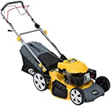 """BMC Sprinter 530 21"""" 5.32HP 173cc 4in1 Self Propelled 4 Stroke Petrol Self Propelled Lawn Mower with Single Lever Height Adjustment, 65 Litre Hard Top Grass Collector, Drive Speed Control & Large 10"""" Rear Drive Wheels - 2 Years Warranty"""