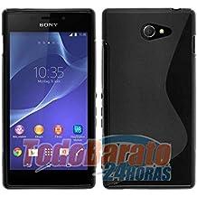 Funda sline s-line Negra para Sony Xperia M2 Aqua