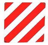 Alpin 60597 - Placa reflectante (500 x 500 mm), color blanco y rojo