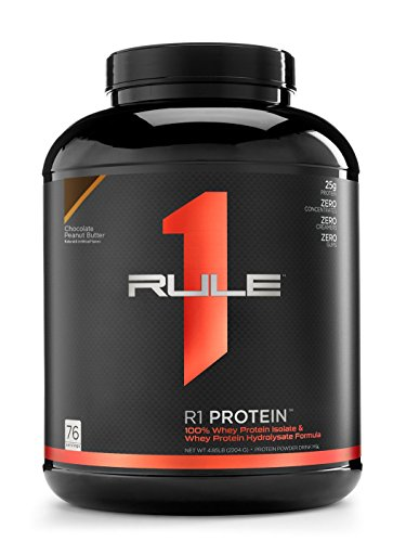 Rule1 R1 Protein (5lbs) Chocolate Peanut Butter Ohne Pfand, 2270 g -