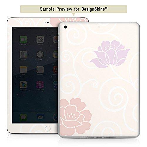 Soft-laminiert (Apple iPad mini 4 Case Skin Sticker aus Vinyl-Folie Aufkleber Flower Blumen Muster)