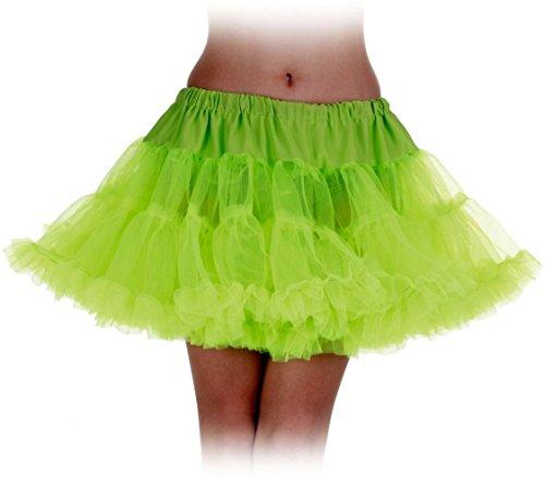Under Wrap Neon Grün Petticoat Erwachsene Tutu