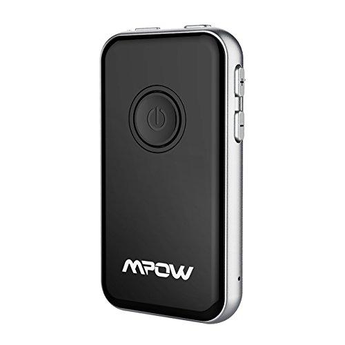 Preisvergleich Produktbild Mpow Bluetooth Adapter Transmitter und Empfänger Audio Musik Adapter für stereoanlage Fernseher TV Heim HiFi Auto Lautsprecher mit 3.5mm Chinch Kabel