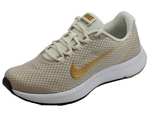 Nike Damen WMNS Runallday Laufschuhe Mehrfarbig (Phantom/Metallic Gold/String/White 017) 36.5 EU