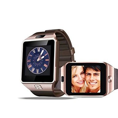 generic-gold-bluetooth-smart-wrist-watch-dz09-phone-mate-make-recieve-calls-built-in-mic-speaker-for