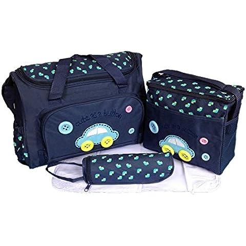 Bosun Kits Bolso/Bolsa/Bolsillo Maternal azul oscuro biberón carrito carro