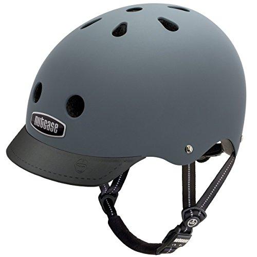 Nutcase Gen3 Bike und Skate Helm, Shark Skin matt, M, NTG3-3001M