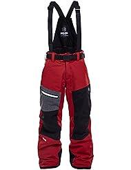 8848Altitude de los niños Defender Jr–Pantalones para hombre, Infantil, color rojo, tamaño 170