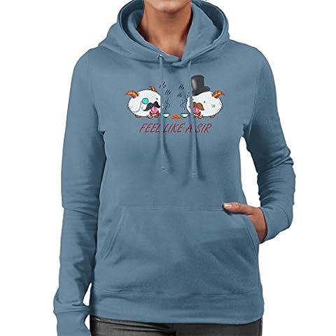 Poros Like a Sir League Of Legends Women's Hooded Sweatshirt