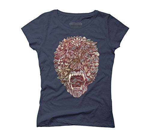 Arrangement Women's Graphic T-Shirt - Design By Humans Navy