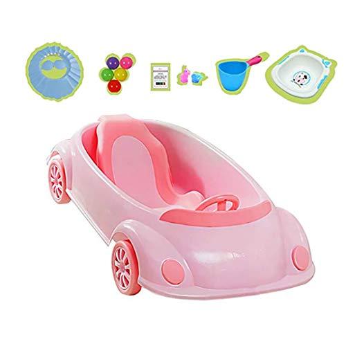 2a3d656e1b34 Auto Vasca Con Cuscino, Plastica Piccola Vasca Da Bagno, Figli Di Plastica  Da Bambini