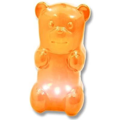 Gummibär Nachtlampe Nachtlicht orange Nachttischlampe 17 cm von Sunday bei Lampenhans.de