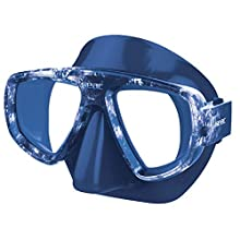 SEAC Unisex's Extreme Scuba, Spearfishing, Freediving and Snorkeling Mask, Camo Blue, standard