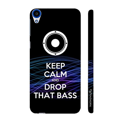 Enthopia Designer Hardshell Case DROP THAT BASS Back Cover for HTC Desire 820  available at amazon for Rs.95