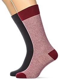 Levis Levis 168sf Regular Cut Micro Stripe 2p, Calcetines para Hombre (Pack de 2