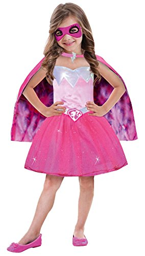 amscan- Déguisement Barbie Power Princess, 999337, 5-7 Ans