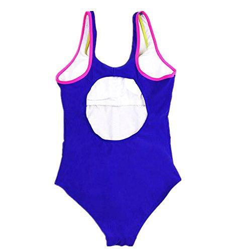 MIAO One-Piece Swimwear Swimsuit professionali Women Sports Blue