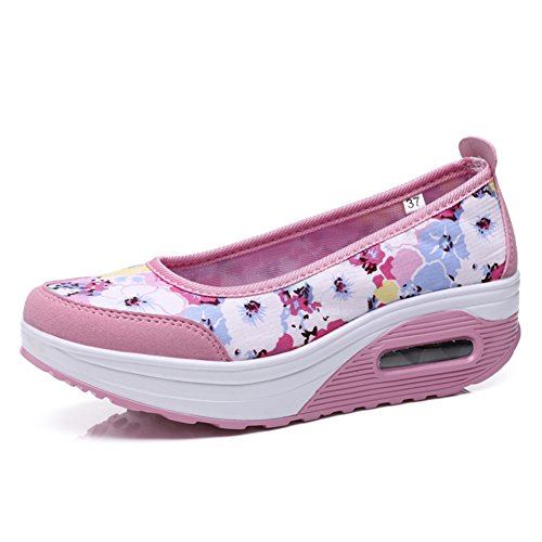 Mesdames clair chaussures occasionnelles/Chaussures hautes/Sneakers mesh respirant D