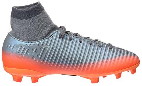 Nike Unisex-Kinder Jr Mercurial Victory Vi Cr7 Df Fg Fußballschuhe Grau