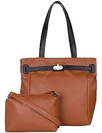 ADISA AD4038 Women Handbag With Sling Bag Combo