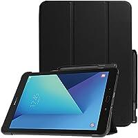 Fintie Galaxy Tab S3 9.7 Funda - Súper Delgada y Ligera Case Cover Carcasa con Stand Soporte Función de S Pen y Auto-Sueño / Estela para Samsung Galaxy Tab S3 9.7 T820 / T825 2017, Negro