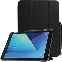 Fintie Galaxy Tab S3 9.7 Funda - Ultra Slim Smart Case Funda Carcasa con Stand Función y Auto-Sueño / Estela S Pen Protective Poseedor para Samsung Galaxy Tab S3 9.7 T820 / T825 2017, Negro