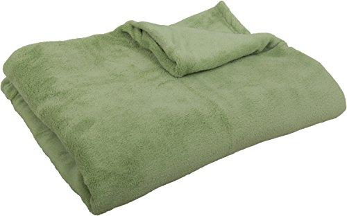 Kuscheldecke Tagesdecke XXXL ca. 290g/m² supersoft, flauschig und anschmiegsam in vielen versch. Farben erhältlich ( grün / 220x240cm )