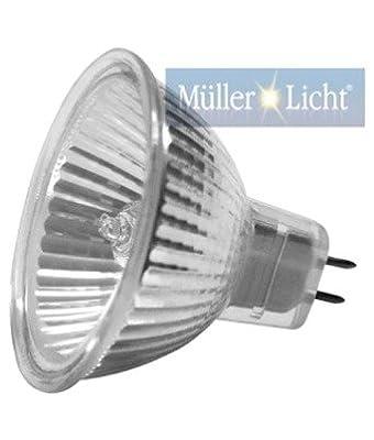Müller-Licht 16180 Halogenreflektoren Kaltlichtreflektor MR11 10W GU4 30° 200cd Type:FTA/C 35x35mm VE:1 von Müller-Licht - Lampenhans.de