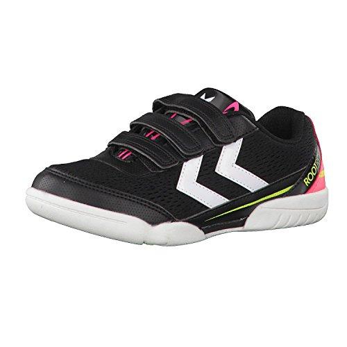 hummel Kinder Handballschuhe Root Jr III 60515 Safety Yellow/Black 29
