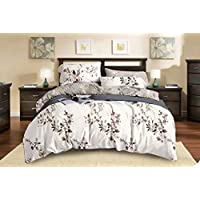 Comfortable Home 6piece King Size Bedding Sets, 1piece Quilt Cover=220x240cm,1piece Fitted Sheet=250x270cm, 2piece Pillow Cover=50x75cm,2piece Cushion cover=50x50cm//10