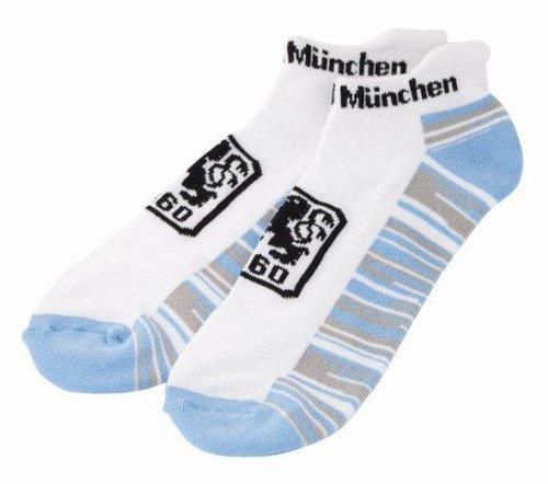 TSV 1860 München Sneakersocke / Socken Fanartikel, Größe:35-38