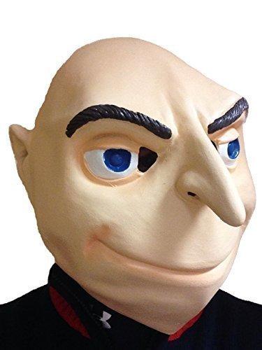 Verbrecherischen Despicable Bösewicht Voll Kopf Latex Maske Kostüm Felonious Me Halloween Party Kostüm (Me Halloween-kostüm Despicable)