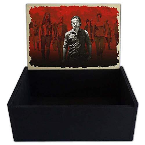 Capricci Italiani - Caja Porta Objetos de Madera The Walking Dead