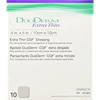 "Convatec Duoderm Cgf Extra Thin Sterile Dressing Spots 4"" X 4"" Hydrocolloid - Box of 10 preisvergleich bei billige-tabletten.eu"