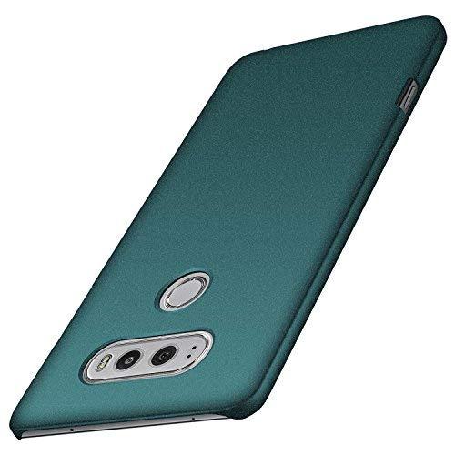 anccer LG V20 Hülle, [Serie Matte] Elastische Schockabsorption und Ultra Thin Design (Kies Grün)