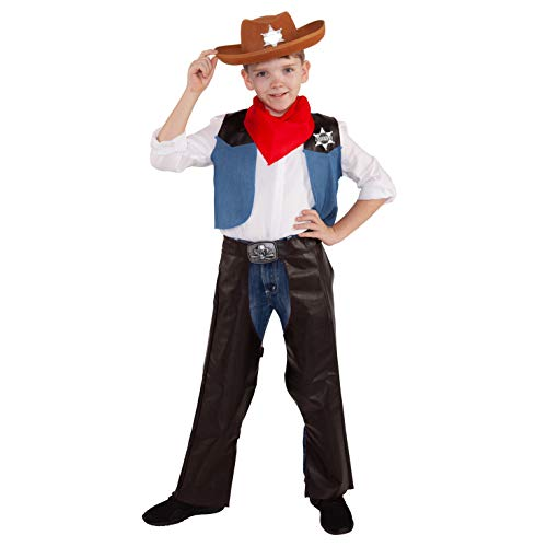 Morph Kinder Cowboy Kostüm Kind Wild West Sheriff -