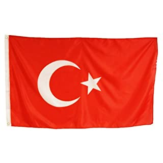 Turkey BAYRAK Turkey Türkeifahne Flag 90 x 150 CM Abasonic ®