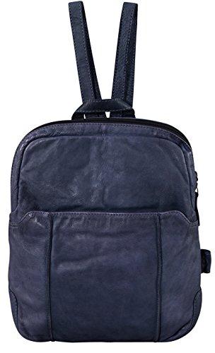 Voi Leather Design 21084 Sz, Borsa a zainetto donna Nero