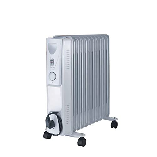 41EbhrLcBlL. SS500  - Fine Elements 11-Fin Oil Filled Radiator, 2500 W