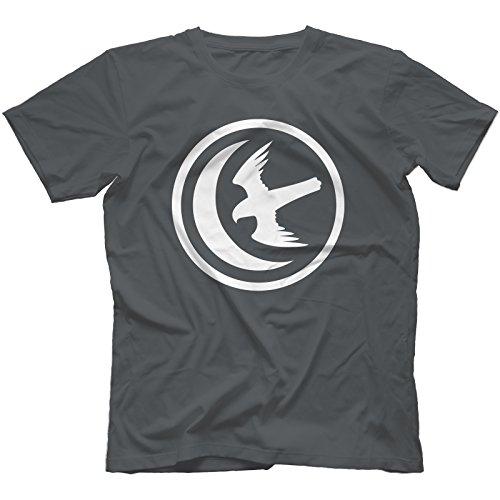 House Arryn T-Shirt in 13 Farben Kohle