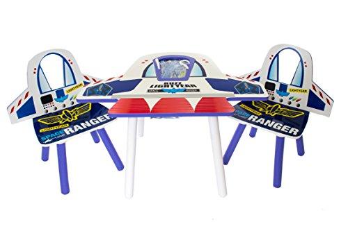 Disney Toy Story  mesa de madera y dos sillas