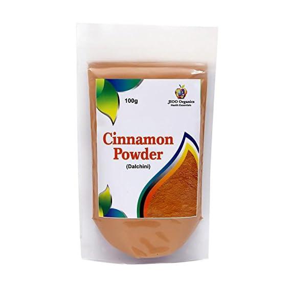 Jioo Organics Cinnamon Powder (Dalchini) _Pack Of 100 g