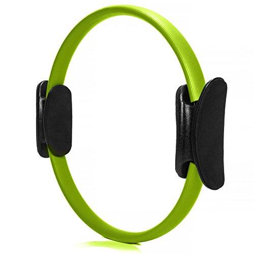 #DoYourFitness® Pilates Ring ca. 36cm Durchmesser | gezieltes Training von Arm- & Beinmuskulatur - Yoga Gymnastik Aerobic Core-Trainer grün