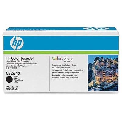 Patrone F/ Laserjet (Hewlett-Packard Lasertoner schwarz HP CE264X CE264X)